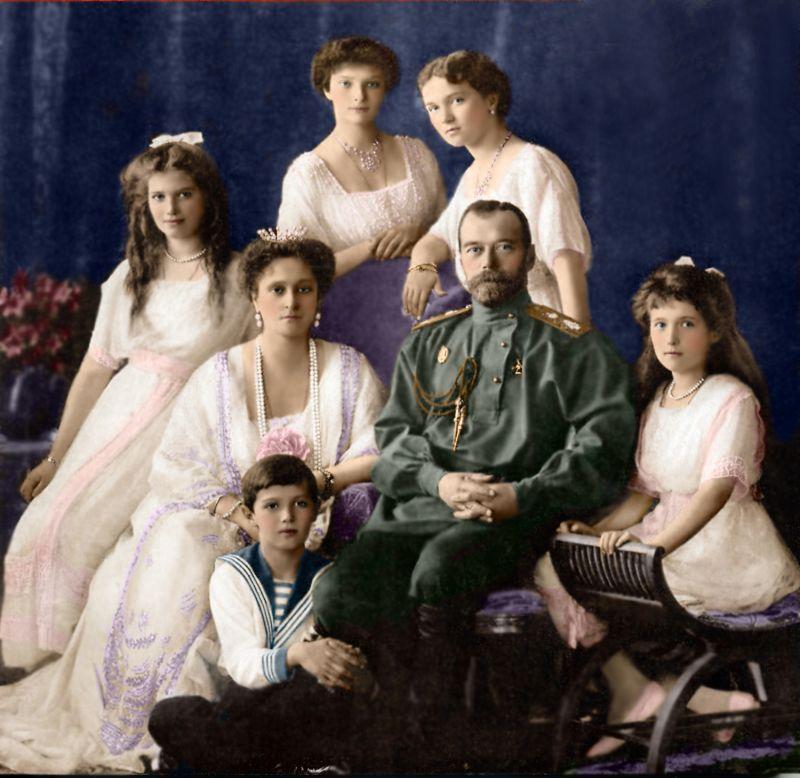 Омские кадеты и царская семья.