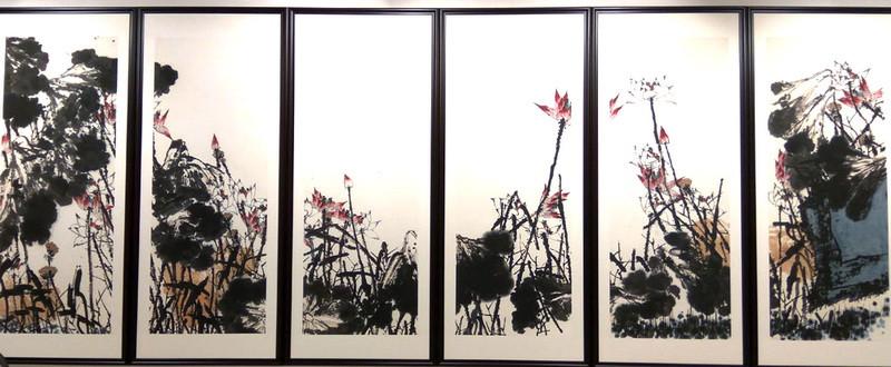 """Цуй Жучжо. """"Осенний ветер приносит благоухание лотоса"""". 2010."""