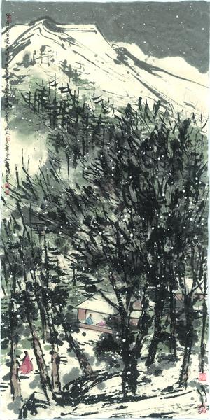 Цуй Жучжо. «Деревья расцветают в ночи». 2012.