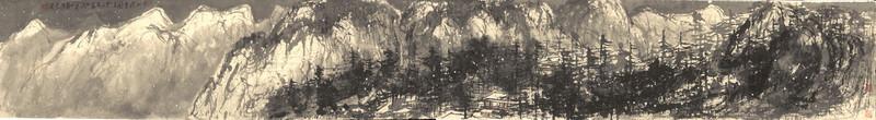 Цуй Жучжо. «В горах Цяньшань пошел снег». 2012.