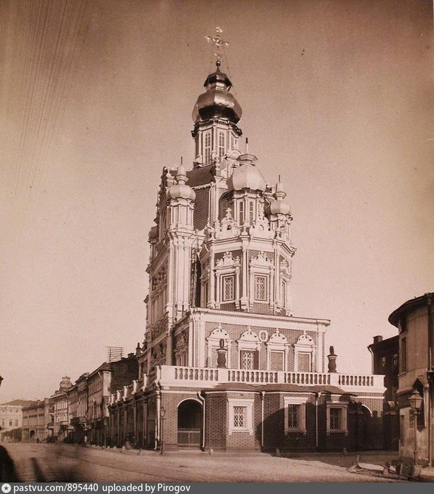 Церковь Успения Божией Матери на Покровке. Фото 1889.