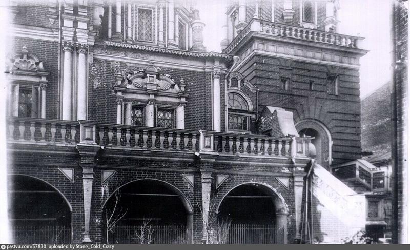 Церковь Успения Божией Матери на Покровке. Перед сносом. Фото 1934-1936.