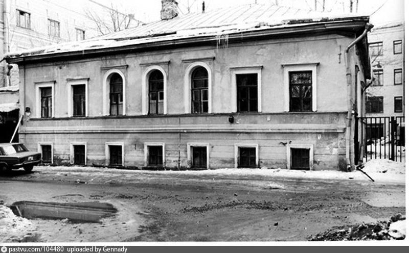 Уличный фасад. Фото 1980.