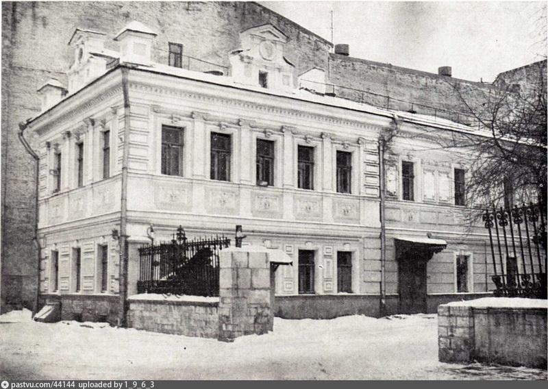 Владения Сверчковых-Колли-Абрикосовой.  Левый флигель. Фото 1980.