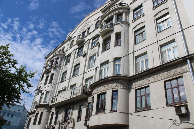 Доходный дом А. Я. Меркеля. Арх. Б.М.Великовский. 1913. Фото 2020.