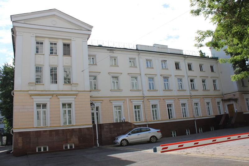 Бывший особняк Ф.Е. Белоусова. 1850. Основательно перестроен. Фото 2020.