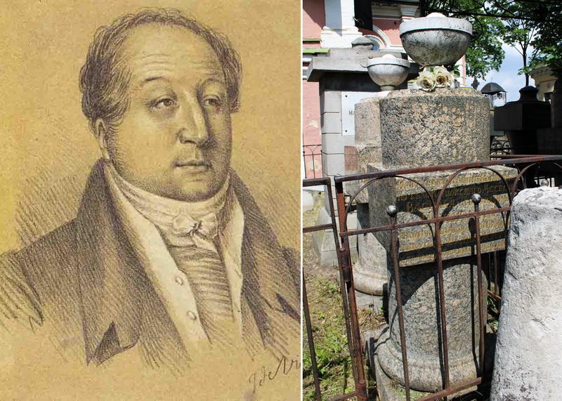 Ж. Вивьен. Пушкин Василий Львович. Около 1823.