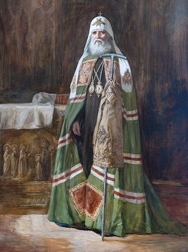 Портрет патриарха Тихона.
