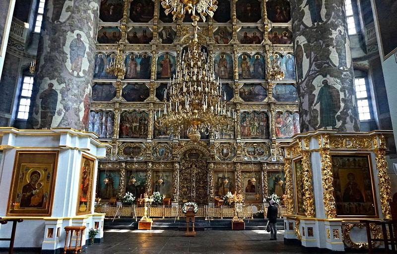 Новый (Большой) собор Донской иконы Божией Матери. Иконостас.