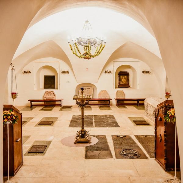 Новый (Большой) собор Донской иконы Божией Матери. Нижний Сретенский храм.