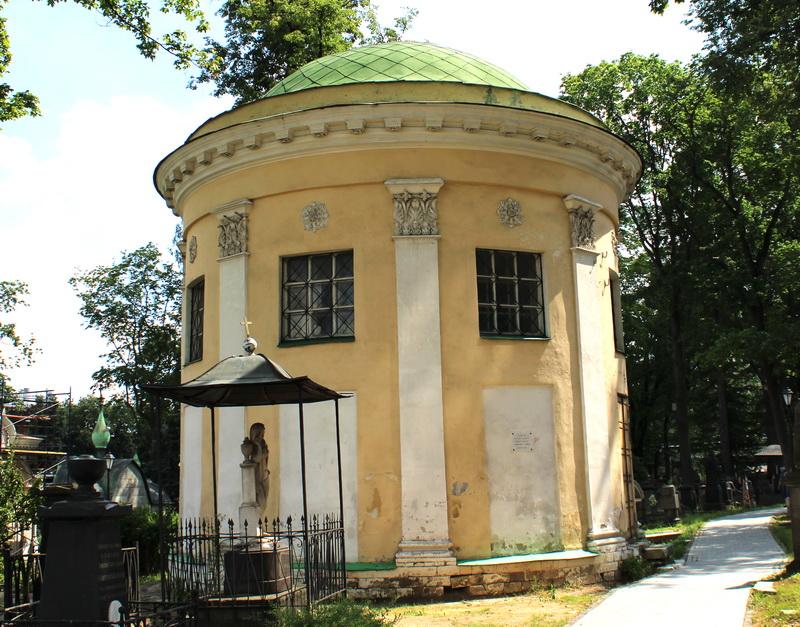 Храм Александра Свирского (усыпальница Зубовых). 1796-1798. Фото 2020.