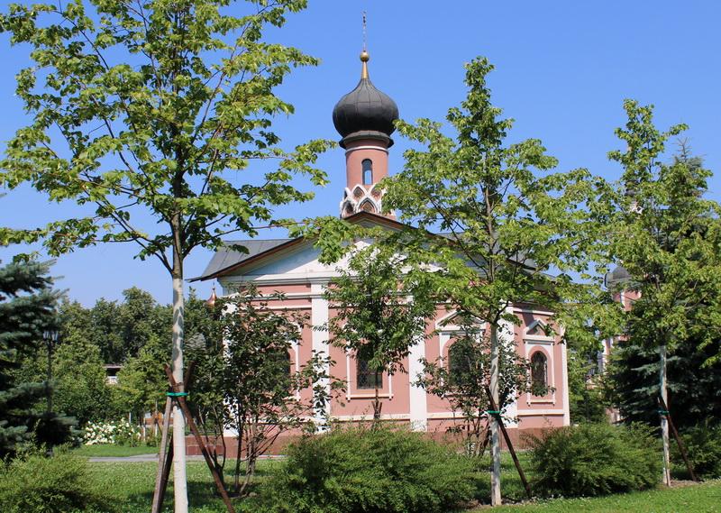 Храм Тихона, Патриарха Всероссийского. 1998.