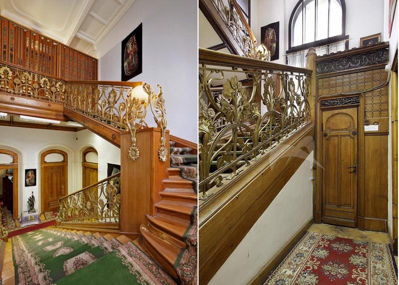 Парадная лестница особняка Кекушевой.  Фото: Наталия Андреассен.