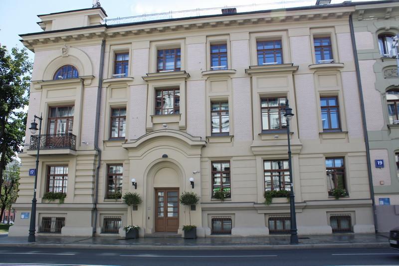 Доходный дом В.И.Грязнова. Фото 2020.