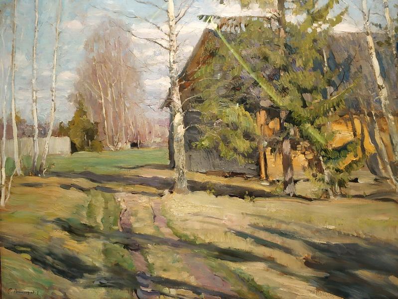 С. Виноградов. Весна. 1902. Холст, масло. ГТГ.