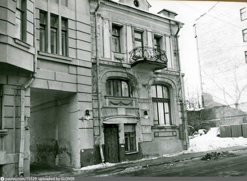 Бывший дом Н.И. Чайковского. Фото 1980.