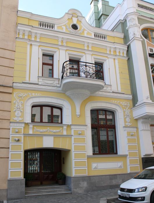 Так сейчас выглядит бывший дом Н.И. Чайковского. Фото 2020.