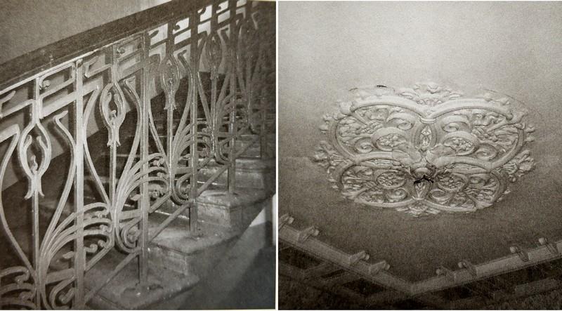 Декор интерьеров дома Бройдо. Фото из книги М.В.Нащокиной «Московский модерн».