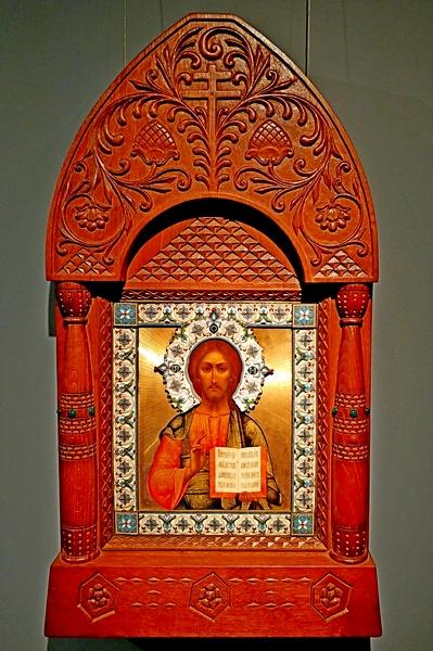 Господь Вседержитель. 1907. Мастерская В.П.Гурьянова. Москва.