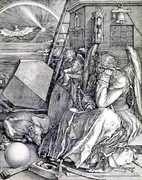 Альбрехт Дюрер. Меланхолия. 1514.