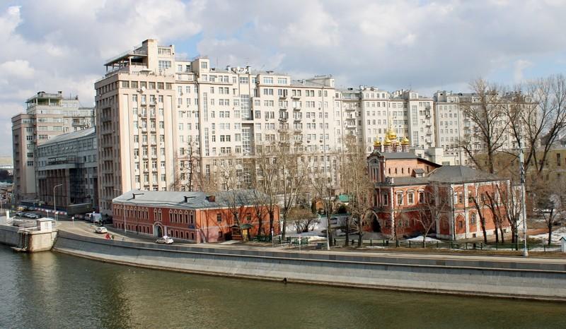Архитектурный ансамбль XVI-XIX вв. на Берсеневке. Фото 2021.