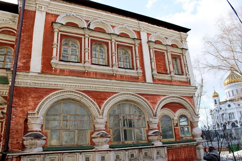 Палаты Аверкия Кириллова. Восточная галерея. Фото 2021.