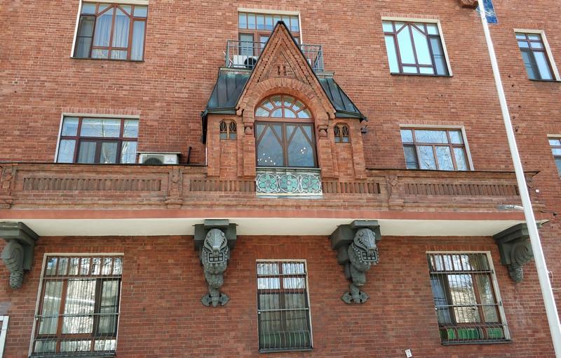 Доходный дом Перцова. Фото 2021.