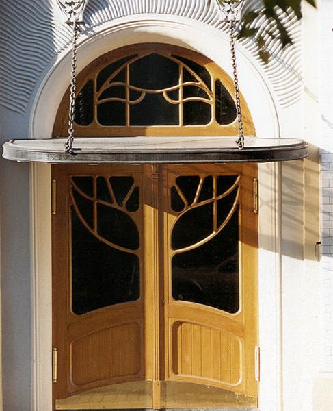 Проект реконструкции двери 1996-1997 гг. Арх. С. Скуратов.