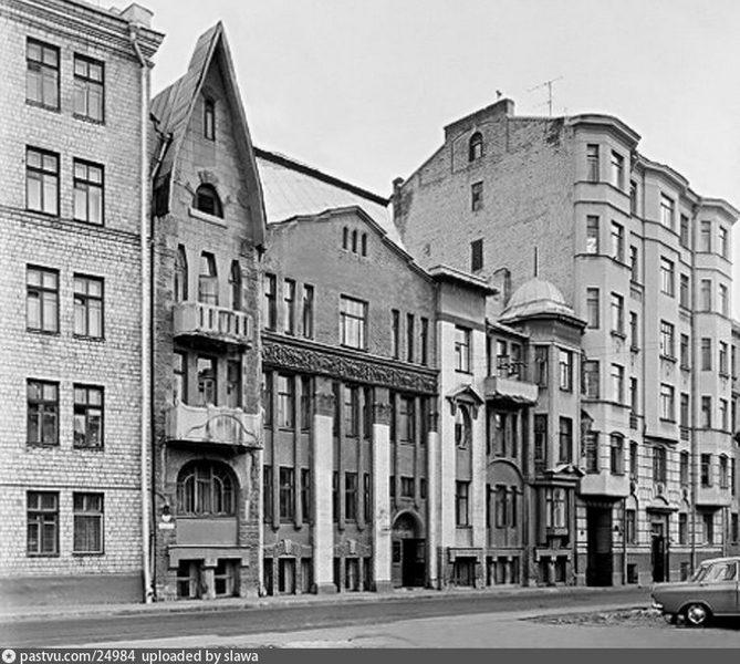 Доходный дом наследников Циркунова. Фото 1973-1975.