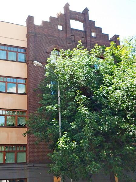 Доходный дом наследников Циркунова. Фото 2018. Фасад со двора.