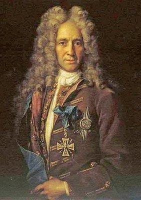 Канцлер Гаврила Иванович Головкин. Художник Иван Никитин. 1720-е.