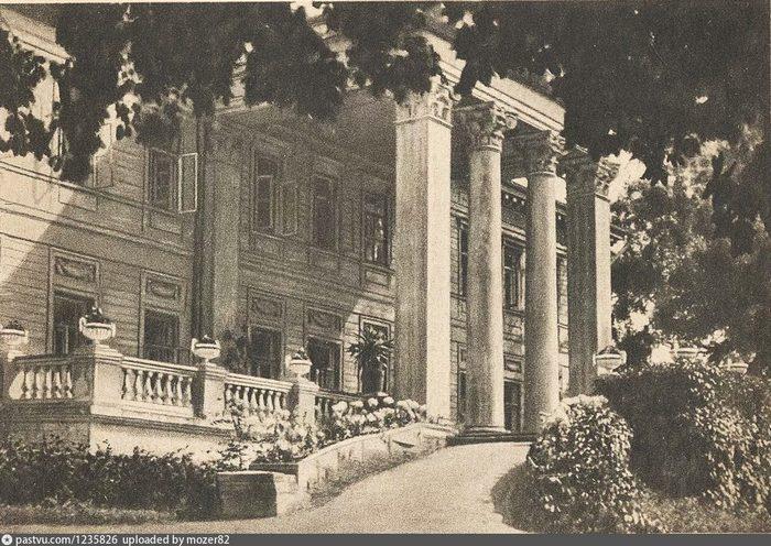 Санаторий «Узкое». Фото 1928.