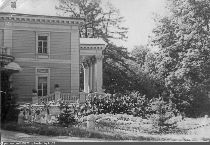 Санаторий «Узкое». Фото 1955-1960.
