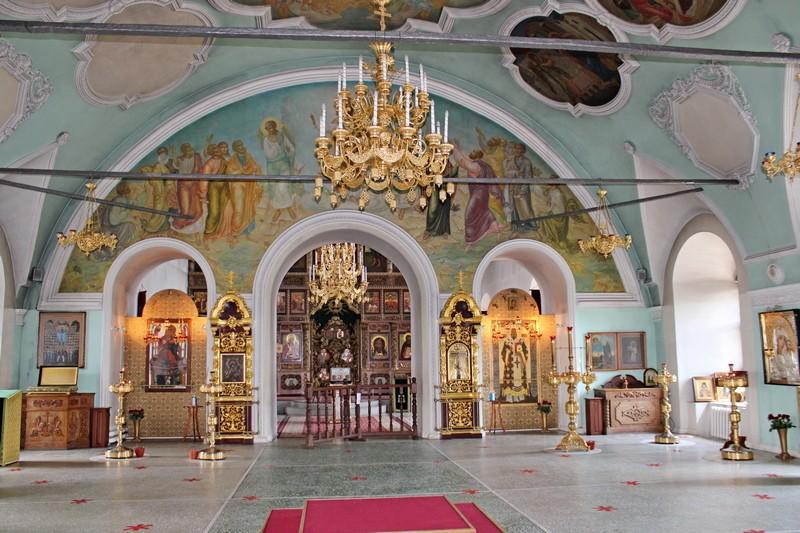 Трапезная храма во имя преподобного Сергия Радонежского.