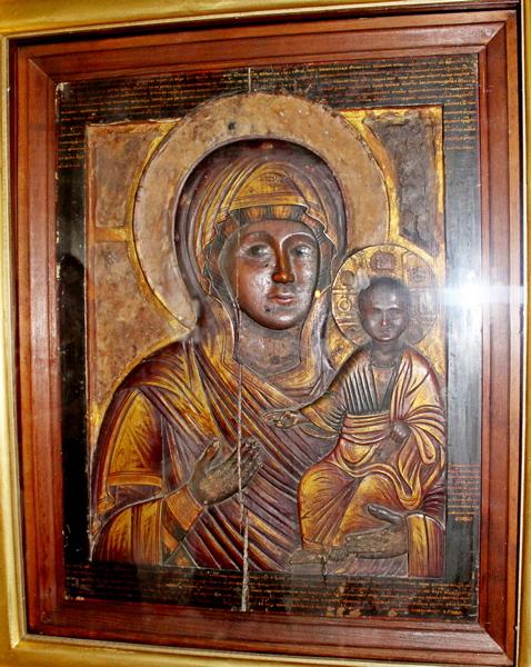 Икона Влахернской Божьей Матери.