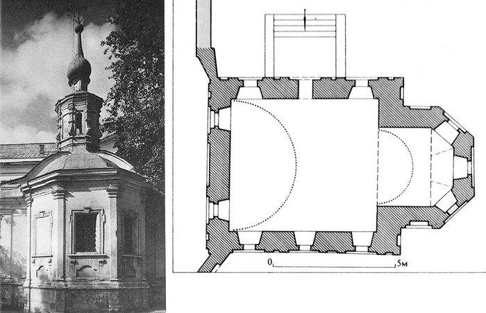 План Храма Толгской иконы Божией Матери.
