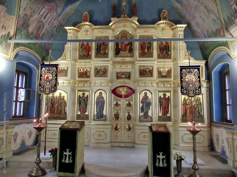 Иконостас храма Толгской Божией Матери. Фото Чеботаря Александра Мирчевича – 2020.