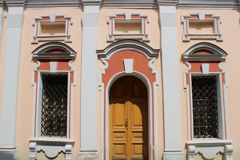 Западный фасад.