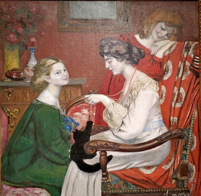 Жаклин Марваль. Кокетки. 1903. Холст, масло. Частное собрание, Париж.