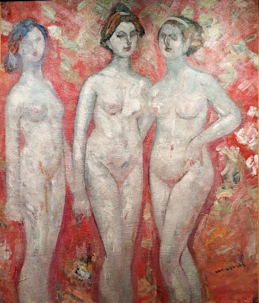 Жаклин Марваль. Три грации. 1905. Холст, масло. Частное собрание, Париж.