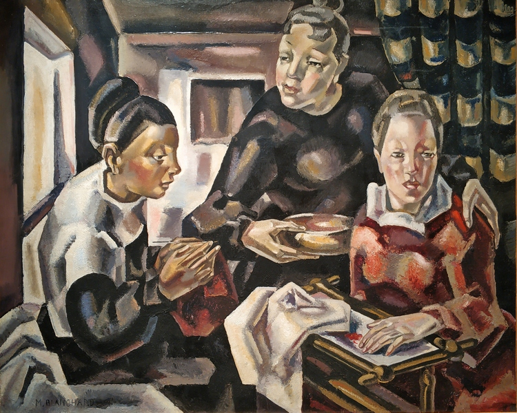 Мария Бланшар. Страдания любви. Около 1924. Холст, масло. Музей современного искусства Парижа.