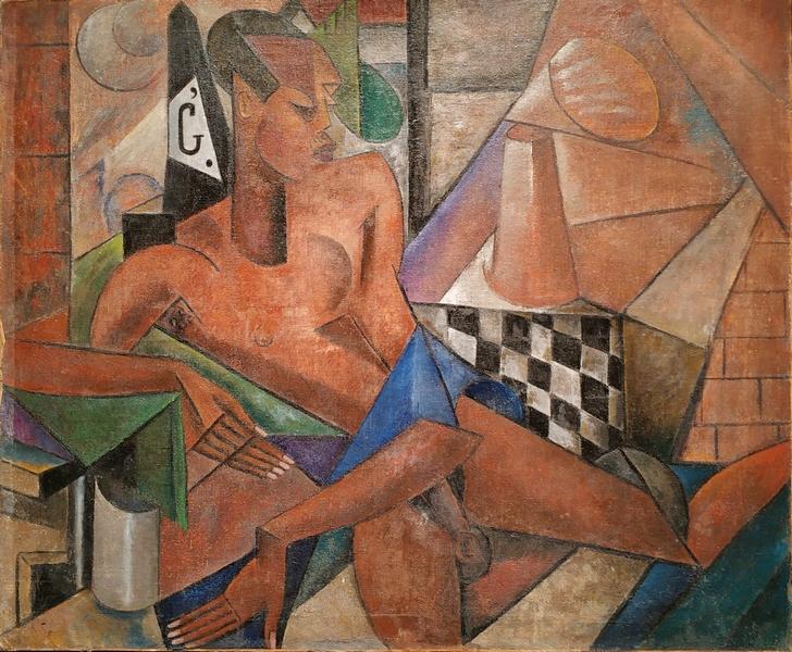 Мария Васильева. Сципион-африканец. 1916. Холст, масло. Собрание Франсуазы Ливинек, Париж.