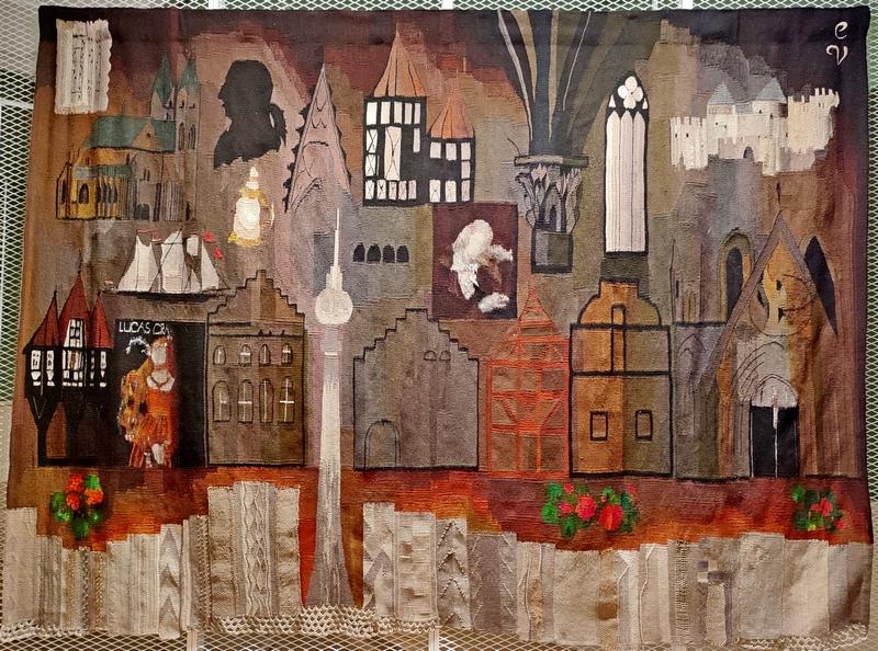 Эдит Паулс-Вигнере (род. 1939). ГДР. 1979. Латвия, Рига. Латвийский национальный художественный музей.