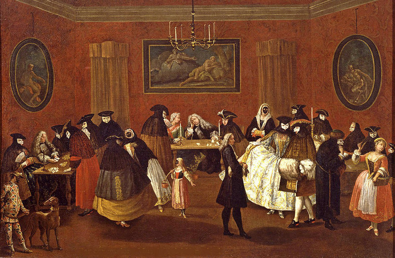 Ридотто. Мастерская Пьетро Лонги. Италия, Венеция. 1740-1760-е. Холст, масло.