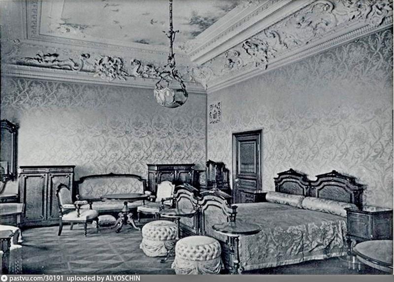 Особняк Коншиной. Спальня. Фото 1910.