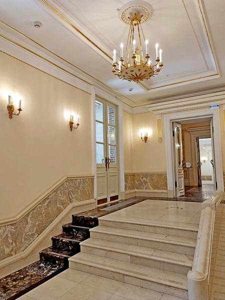 Царицыно. Большой дворец. На подступах к Екатерининскому залу. Фото 2021.