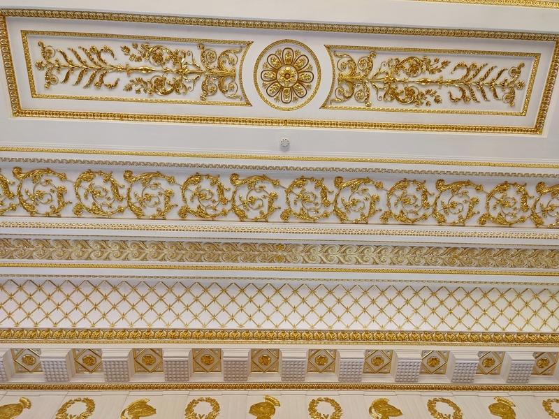 Таврический зал. Потолочный фриз.