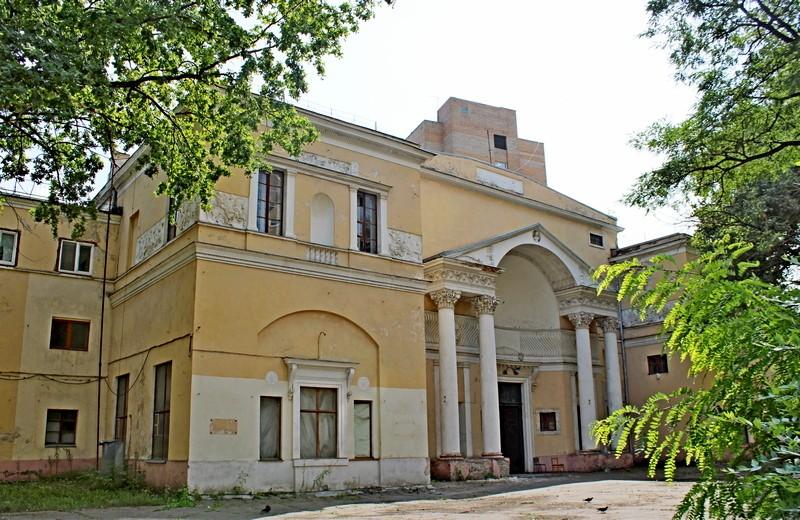 Дом Скакового общества. Арх. И.В.Жолтовский. 1903-1905. Фото 2021.