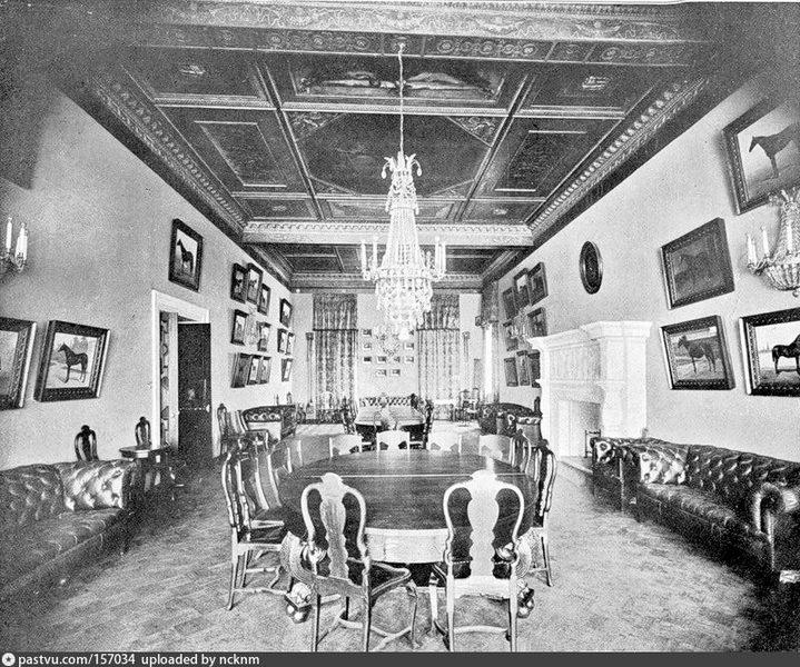 Столовая. Фото 1906-1907.