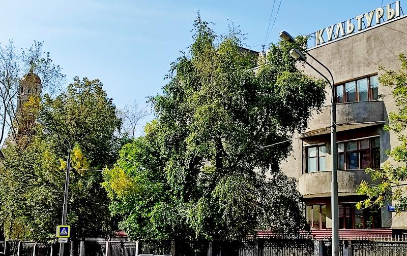Симонов монастырь и ДК ЗИЛ. Фото 2021.